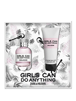Set cadou Zadig & Voltaire Girls Can Do Anything (Apa de parfum 50 ml + Lotiune de corp 100), pentru femei de la Zadig & Voltaire