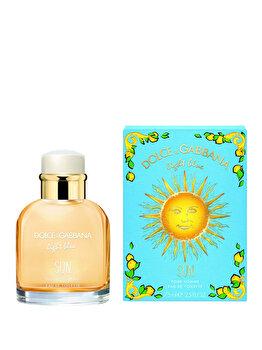 Apa de toaleta Dolce & Gabbana Light Blue Sun, 75 ml, pentru barbati de la Dolce & Gabbana