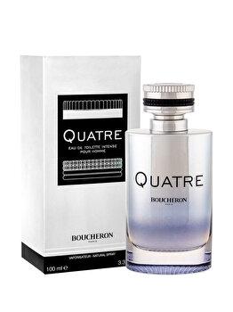 Apa de toaleta Boucheron Quatre Intense Pour Homme, 100 ml, pentru barbati de la Boucheron