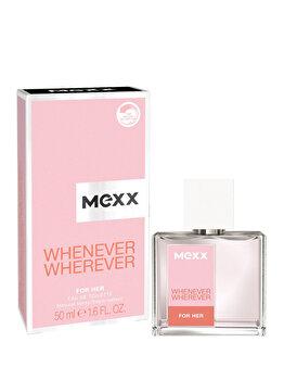 Apa de toaleta Mexx Whenever Wherever Women, 50 ml, pentru femei de la Mexx