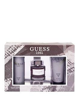 Set cadou Guess 1981 (Apa de toaleta 100 ml + Gel de dus 200 ml + Deospray 226 ml), pentru barbati de la Guess