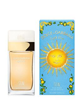Apa de toaleta Dolce & Gabbana Light Blue Sun, 50 ml, pentru femei de la Dolce & Gabbana
