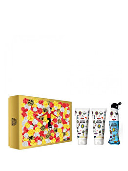 Set cadou Moschino Cheap and Chic So Real (Apa de toaleta 50 ml + Lotiune de corp 100 ml + Gel de dus 100 ml), pentru femei de la Moschino
