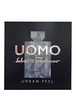 Set cadou Salvatore Ferragamo Uomo Urban Feel (Apa de toaleta 100 ml + Gel de dus 100 ml + Apa de toaleta 10 ml), pentru barbati de la Salvatore Ferragamo