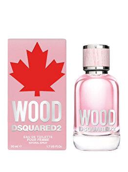 Apa de toaleta Dsquared2 Wood, 50 ml, pentru femei de la Dsquared2