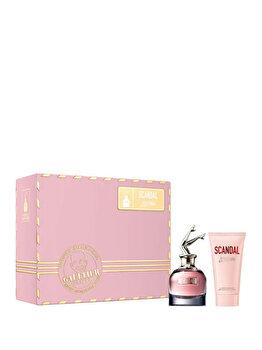 Set cadou Jean Paul Gaultier Scandal (Apa de parfum 50 ml + Lotiune de corp 75 ml), pentru femei de la Jean Paul Gaultier