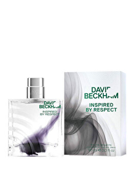 Apa de toaleta David Beckham Inspired by Respect, 90 ml, pentru barbati de la David Beckham