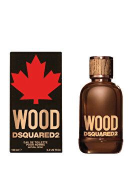 Apa de toaleta Dsquared2 Wood, 100 ml, pentru barbati de la Dsquared2
