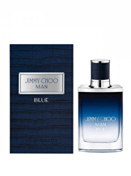 Apa de toaleta Jimmy Choo Man Blue, 50 ml, pentru barbati de la Jimmy Choo