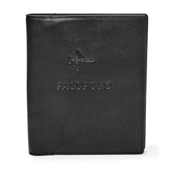 Portofel din piele Fossil Leather RFID Passport de la Fossil