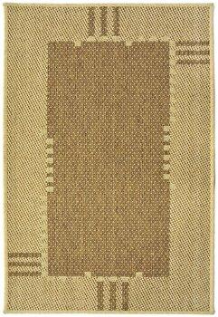 Covor Decorino Modern & Geometric C116-031204, Maro/Bej, 67×120 cm de la Decorino