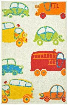 Covor Decorino Copii & Tineret C23-031406, Bej/Multicolor, 100x150 cm