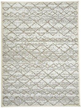 Covor Decorino Modern & Geometric C97-031603, Bej/Alb, 160×235 cm de la Decorino