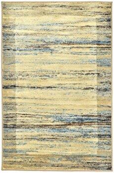 Covor Decorino Modern & Geometric C97-031703, Bej/Maro/Albastru, 160×235 cm de la Decorino