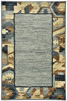 Covor Decorino Modern & Geometric C23-031705, Gri/Maro/Bej, 100×150 cm de la Decorino