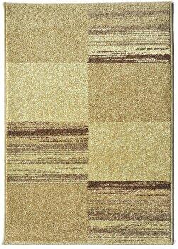 Covor Decorino Modern & Geometric C23-031809, Maro/Bej, 100×150 cm de la Decorino