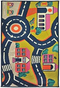 Covor Decorino Copii & Tineret C103-032204, Multicolor, 200×285 cm de la Decorino