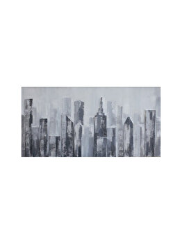 Tablou pictat manual Mendola Art, Urban Style, 218-EOPG2201B, 60 x 120 cm de la Mendola Art