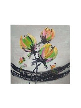 Tablou pictat manual Mendola Art, Concerto, 218-CA0925A, 30 x 30 cm