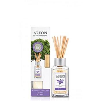 Odorizant cu betisoare Areon Home Perfume 85 ml Patchouli Lavander Vanilla de la Areon