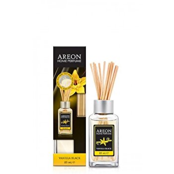 Odorizant cu betisoare Areon Home Perfume 85 ml Vanilla Black de la Areon