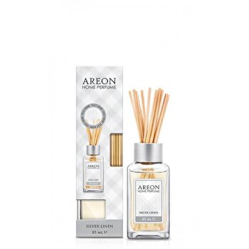 Odorizant cu betisoare Areon Home Perfume 85 ml Silver Linen de la Areon