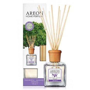 Odorizant cu betisoare Areon Home Perfume 150 ml Patchouli Lavender Vanilla