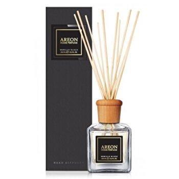 Odorizant cu betisoare Areon Home Perfume 150 ml Vanilla Black Black Line de la Areon