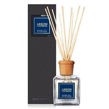 Odorizant cu betisoare Areon Home Perfume 150 ml Verano Azul Black Line de la Areon