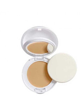 Fond de ten compact pentru ten sensibil normal-mixt cu SPF 30 Avene Couvrance, 01 Porcelain, 10 g de la Avene