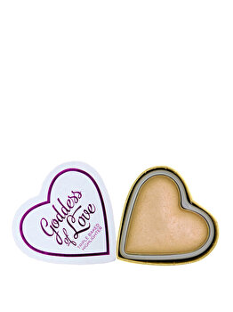 Iluminator I Heart Makeup Blushing Hearts Golden Goddess de la Makeup Revolution London
