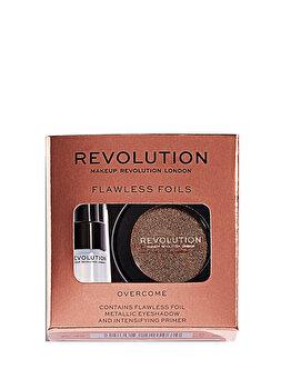 Set Makeup Revolution Flawless Foils (Primer pentru fardul de pleoape + Fard de pleoape) de la Makeup Revolution London