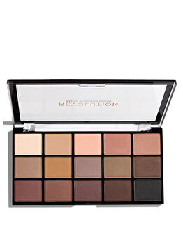 Paleta farduri de pleoape Makeup Revolution Re-Loaded Palette de la Makeup Revolution London