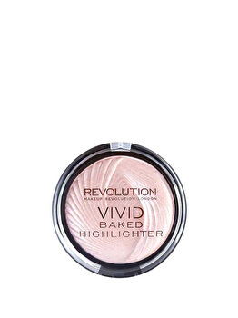Iluminator MAKEUP REVOLUTION Vivid Baked Highlighter – Peach Lights, 7.5g de la Makeup Revolution London