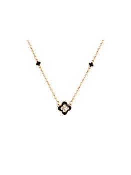 Colier Diamond Style CLOVERNECKROSE