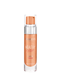 Baza de machiaj iluminatoare Bourjois Healthy Mix Glow Primer, 02 Vitamined Apricot, 15 ml