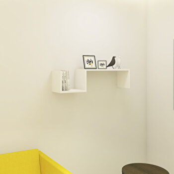 Raft de perete Elegance, din melamina 100 procente, 90 x 20 x 22 cm, 793ELG1601