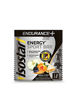 ISOSTAR ENDURANCE+ HIGH CARB BAR 3x40g de la Isostar