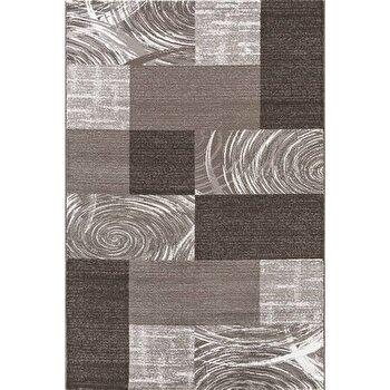 Covor Decorino Patchwork C04-201910, Maro, 80x150 cm