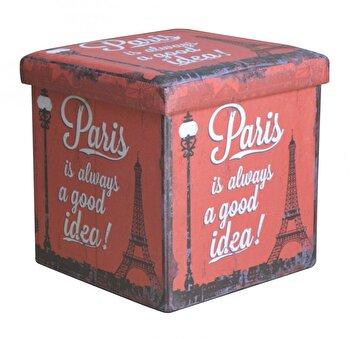 Taburet pliabil, Heinner, Paris, HR-FLD38-PARIS de la Heinner