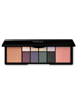 Paleta pentru machiaj Smart Eyes And Face Palette, 02 Fashionables Shades de la Kiko Milano