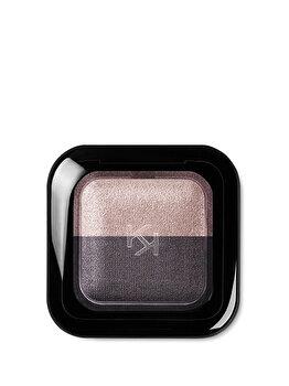 Fard de pleoape Bright Duo Baked, 16 Pearly Rosy Taupe – Satin Purple Gray de la Kiko Milano
