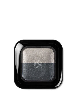 Fard de pleoape Bright Duo Baked, 23 Pearly Gray – Pearly Anthracite de la Kiko Milano