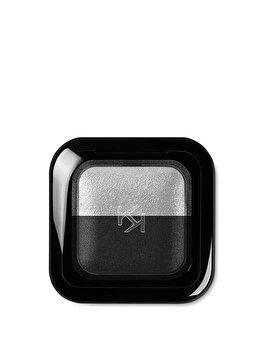 Fard de pleoape Bright Duo Baked, 24 Pearly Silver – Matte Black de la Kiko Milano