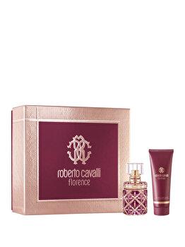 Set cadou Roberto Cavalli Florence (Apa de parfum 50 ml + Lotiune de corp 75 ml), pentru femei de la Roberto Cavalli