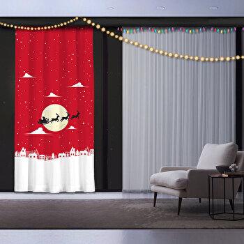 Draperie decor, Cipcici, poliester 100 procente, 140 x 260 cm, 785CPC7149 de la Cipcici