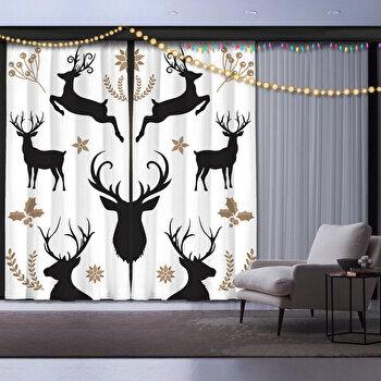 Draperie decor, Cipcici, poliester 100 procente, 140 x 260 cm, 785CPC7169 de la Cipcici