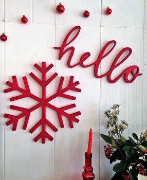 Accesoriu decorativ de perete, La Moneta, polywood 100 procente, 38 x 38 x 1.8 cm, 796LMN2050 de la La Moneta