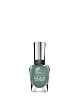 Lac de unghii Sally Hansen Complete Salon Manicure, 586 Moss Definitely, 14.7 ml de la Sally Hansen