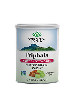 Supliment alimentar natural Triphala 100g Eco/Bio Organi India de la ORGANIC INDIA